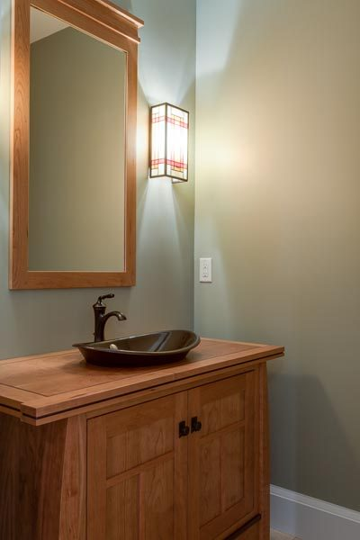 Bath Vanity Built By Garner Woodworks