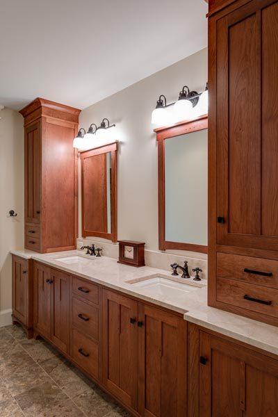 Bathroom Vanity & Cabinetry Built By Garner Woodworks