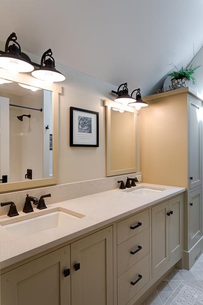 Bathroom Cabinets Project By Garner Woodworks