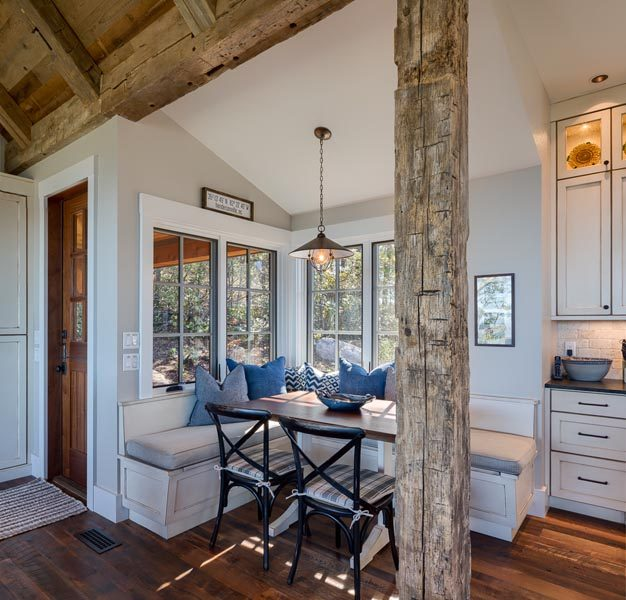 Breakfast Nook Customized By Garner Woodworks