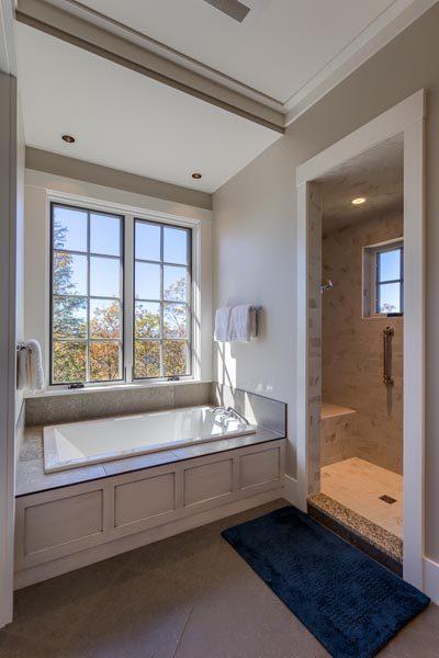 Bathtub & Shower Woodworking Done By Garner Woodworks