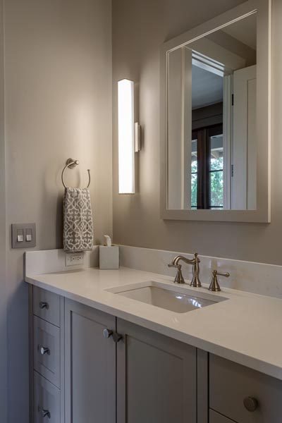 Bathroom Designed & Created By Garner Woodworks