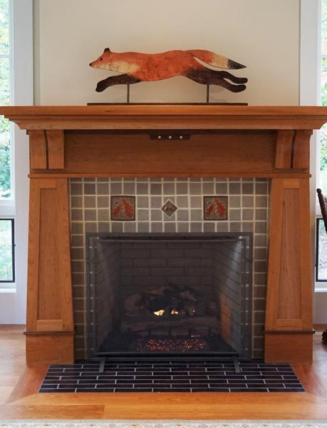 Fireplace Mantle Custom Made By Garner Woodworks