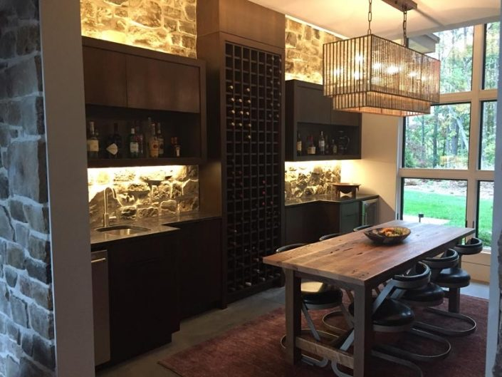 Bars & Wine Storage Built By Garner Woodworks