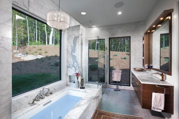 Bathroom Designed By Garner Woodworks