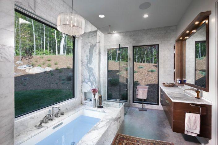 Bathroom Designed By Garner Woodworks