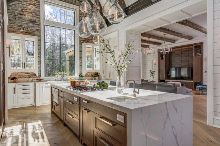 Kitchen Island Built By Garner Woodworks